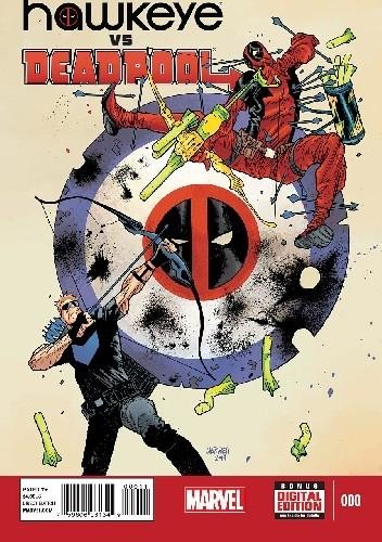 Okładka książki Hawkeye vs. Deadpool #0