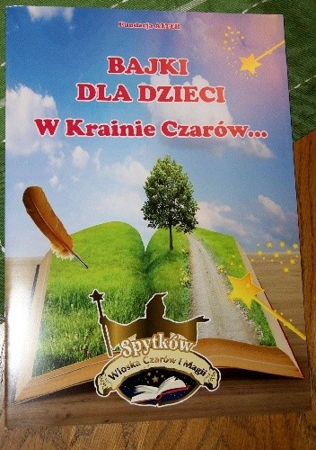 Okładka książki BAJKI DLA DZIECI. W Krainie Czarów...
