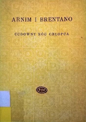 Okładka książki Cudowny róg chłopca