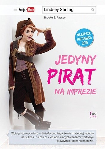 Okładka książki Jedyny pirat na imprezie