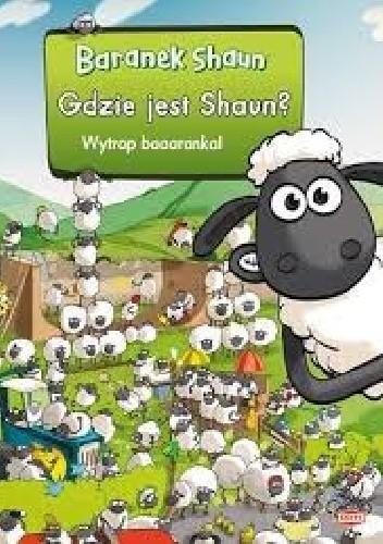 Okładka książki Gdzie jest Shaun?