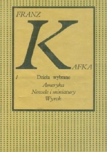 Okładka książki Ameryka, Nowele i miniatury, Wyrok