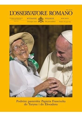Okładka książki L'Osservatore Romano wydanie polskie nr 7-8 (374) 2015