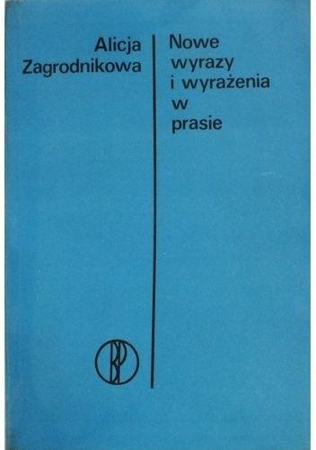 Okładka książki Nowe wyrazy i wyrażenia w prasie