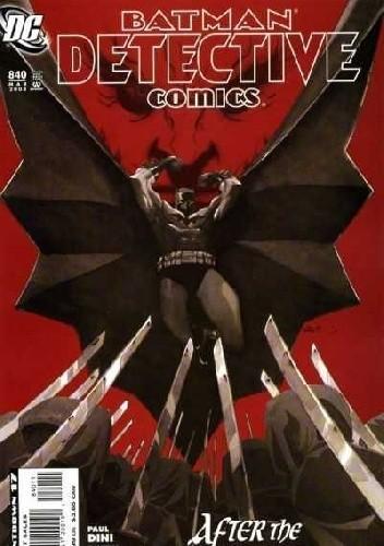Okładka książki Batman: Detective Comics #840