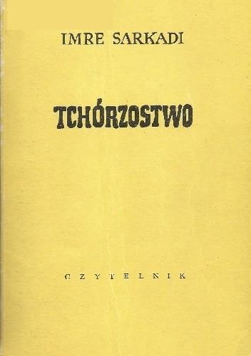 Okładka książki Tchórzostwo