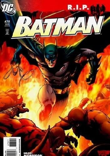 Okładka książki Batman #678