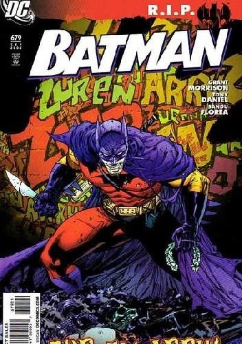Okładka książki Batman #679