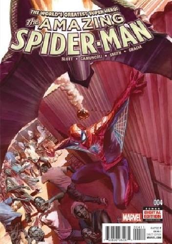 Okładka książki Amazing Spider-Man Vol 4 #4 - Worldwide: High Priority