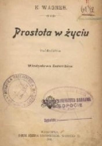 Okładka książki Prostota w życiu