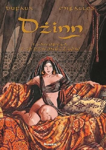 Okładka książki Dżinn - 1-2 - Faworyta.30 dzwoneczków