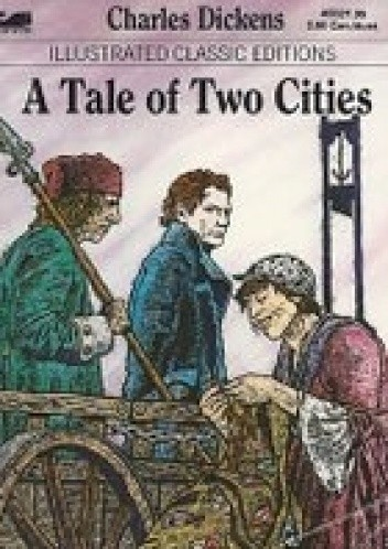 Okładka książki A Tale of Two Cities