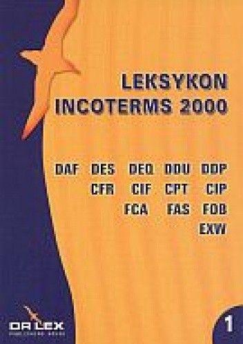Okładka książki Leksykon Incoterms 2000