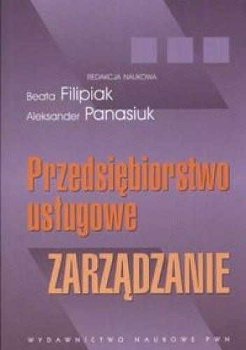 Okładka książki Przedsiębiorstwo usługowe. zarządzanie