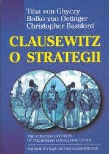 Okładka książki Clausewitz o strategii