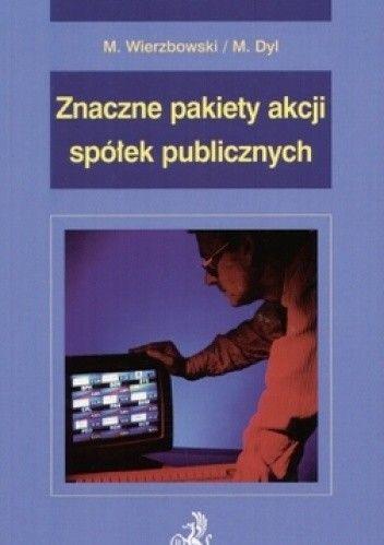 Okładka książki Znaczne pakiety akcji spółek publicznych