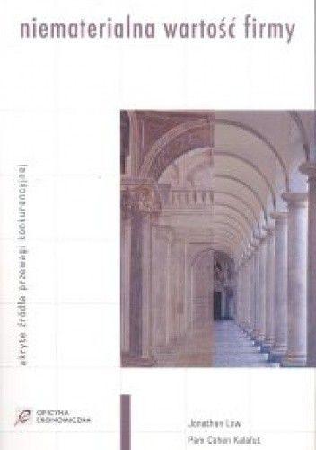 Okładka książki Niematerialna wartość firmy