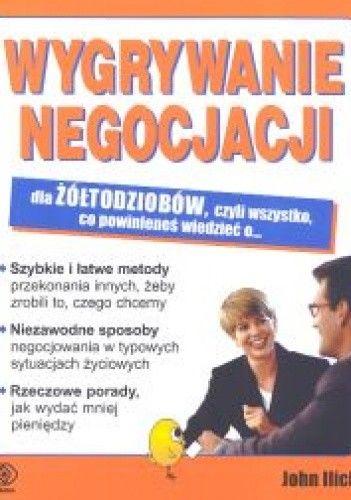 Okładka książki Wygrywanie negocjacji