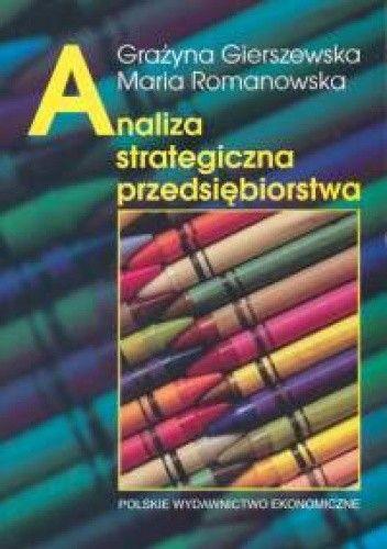 Okładka książki Analiza strategiczna przedsiębiorstwa