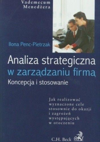 Okładka książki Analiza strategiczna w zarządzaniu firmą