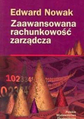 Okładka książki Zaawansowana rachunkowość zarządcza
