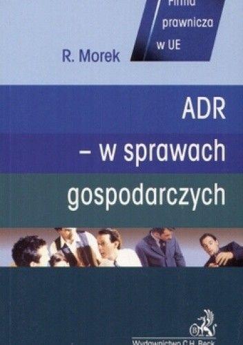 Okładka książki ADR - w sprawach gospodarczych