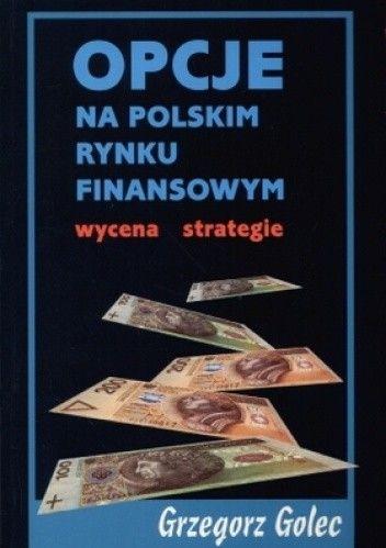 Okładka książki Opcje na polskim rynku finansowym