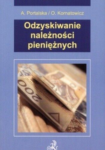Okładka książki Odzyskiwanie należności pieniężnych