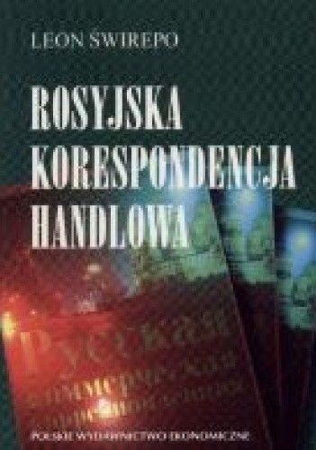 Okładka książki Rosyjska korespondencja handlowa