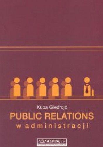 Okładka książki Public realtions w administracji
