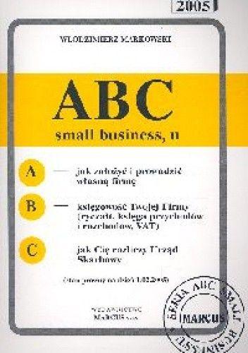 Okładka książki ABC small businessu 2005