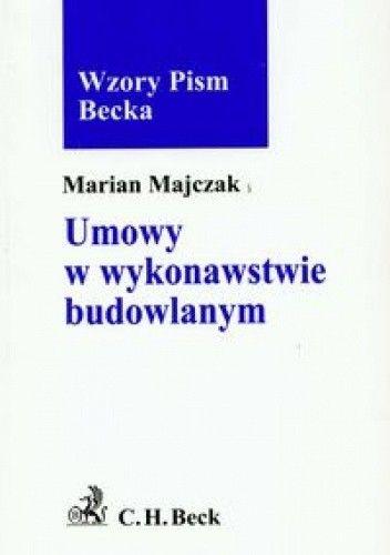 Okładka książki Umowy w wykonawstwie budowlanym