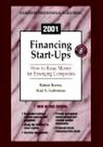 Okładka książki 2001 Financing Start Ups