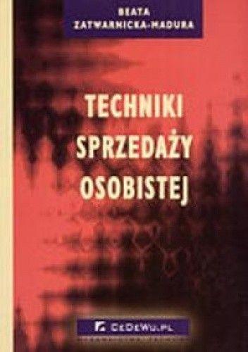 Okładka książki Techniki sprzedaży osobistej