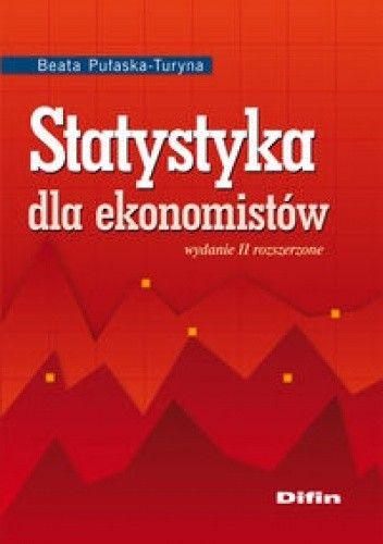 Okładka książki Statystyka dla ekonomistów
