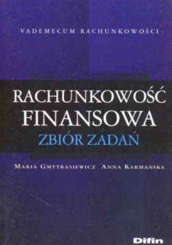 Okładka książki Rachunkowość finansowa. Zbiór zadań.