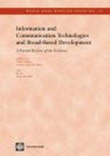Okładka książki Information & Communication Technologies & Broad-Based Devel