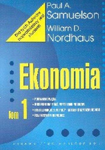 Okładka książki Ekonomia - tom 1