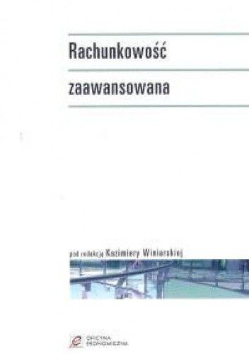 Okładka książki Rachunkowość zaawansowana