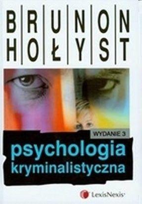 Okładka książki Psychologia kryminalistyczna