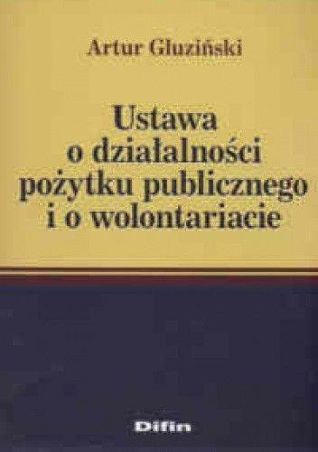 Okładka książki Ustawa o działaniu pożytku publcznego i o wolontariacie