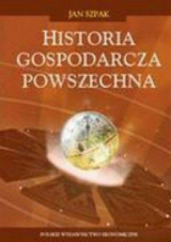 Okładka książki Historia gospodarcza powszechna.