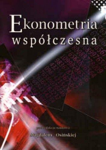 Okładka książki Ekonometria współczesna