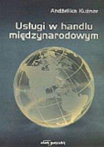Okładka książki Usługi w handlu międzynarodowym