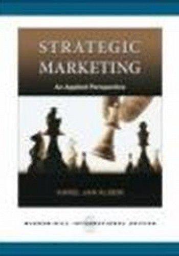 Okładka książki Strategic Marketing
