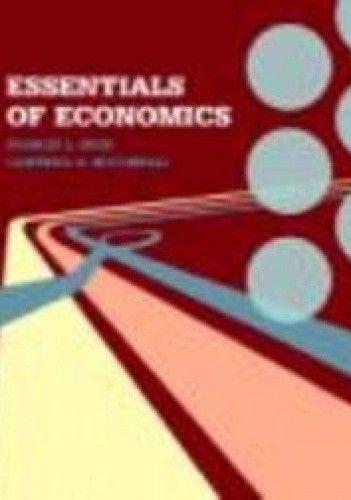 Okładka książki Essentials of Economics
