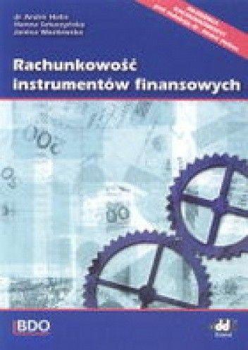 Okładka książki Rachunkowość instrumentów finansowych