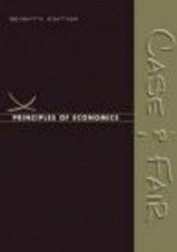 Okładka książki Principles of Economics