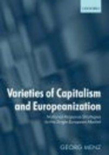 Okładka książki Varieties of Capitalism &&& Europeanization