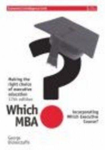 Okładka książki Which MBA